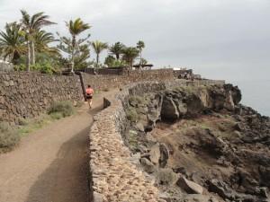 20150111130346 Bieg zPuerto del Carmen wkierunku Puerto Calero izpowrotem